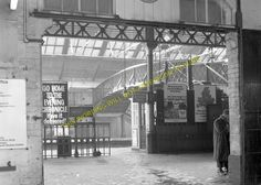 A photograph of the North Eastern Railway station at South Shields. Newcastle England, North East England, Sunderland, Places Of Interest, Local History, East Sussex, North Yorkshire, Homeland, Brewery