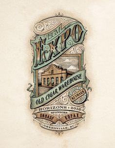 Behance :: Editing Old Cigar Warehouse Expo Victorian Vintage Illustration - ART Vintage Packaging, Vintage Labels, Vintage Posters, Victorian Illustration, Illustration Art, Girl Illustrations, Vintage Type, Vintage Art, Logo Vintage
