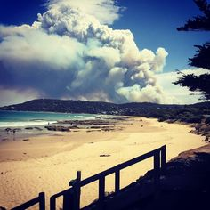 #bushfire#heaven#beauty#great#greatoceanroad#melbourne#victoria#outdoors#beach#pacificocean#stunning#stunning_shots#clouds#smoke#fire#amazing#fabolous#onceinalifetime#summertime#summer#crazy#desigirl#captured#canadian#punjaban#colors#christmas#christmas2015#christmasday#apollobay by mysterious_gal07 http://ift.tt/1LQi8GE