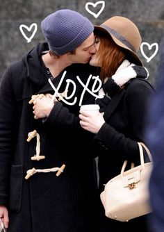 emma stone and andrew garfield= cute couple!!