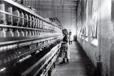 Cotton Mill Girl by Lewis Hine 1908