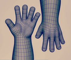 Work on your loops and riggers will thank you. #3dsculpt #3dmodel #3D #sculpture #sculpt #model #cg #hand #characterdesign #character #wireframe #vfx #maya #autodesk #autodeskmaya #polygon #allquads