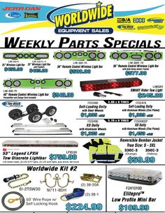 Outfit your trucks with this week's GREAT DEALS!