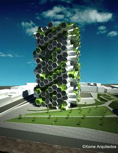 ♂ Unique modern architecture Eco friendly London Farm Tower (7) © Efecto Veintiuno #albertobokos