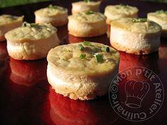 Mini-Cheesecakes aux Lardons Fumés de Mamy2yumi
