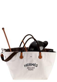 equestrian style hermes bag.