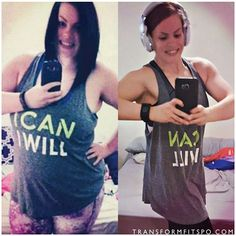 """Are you trying to make a transformation? What's working for you? @getfitrockett: """"One more comparison for Transformation Tuesday.. cause.. Timehop. 2 years difference exactly. I was super pumped about my progress already on the left. I was around 70lbs down. My confidence was growing. I actually hung up a full length mirror in my bedroom, something I never would have done before. Knew I still I had a ways to go, but I had already come so far. And that was something to be proud of."""" ______..."""