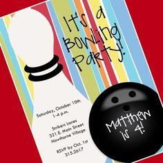 Free printable kids bowling party invitations download get this bowling party invitation printable invitation by cardsbycarolyn 800 kaylas party filmwisefo