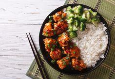 Boulettes de poisson brocoli et riz #cholestérol #regimecholestérol #recettecholestérol