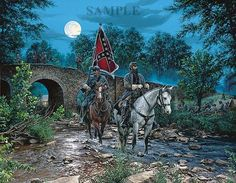 Gettysburg Moon by John Paul Strain - Classic Canvas