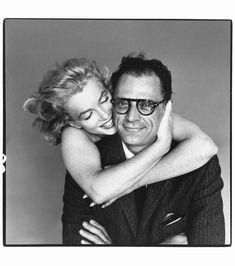 Marilyn Monroe & Arthur Miller - New York - 8 mai 1957 By Richard Avedon