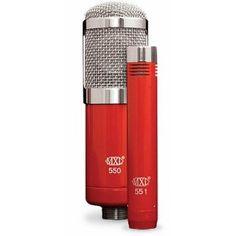 MXL 550/551 Vocal/Acoustic Mic Combo Kit