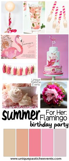 For Her: Flamingo Birthday Party Ideas