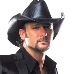 Tim McGraw super cute!!  Maybe not take off hat either?  Still trying to decide on that one too.  :/  Lol...