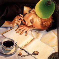 *    Illustrator Francine Van Hove