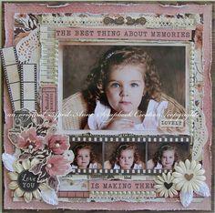 Love Scrapbook, Vintage Scrapbook, Wedding Scrapbook, Scrapbook Sketches, Scrapbook Page Layouts, Scrapbook Albums, Scrapbook Cards, Vintage Wedding Flowers, Heritage Scrapbooking