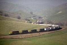 1988-02-04 ATSF 3852 991 Allard, CA