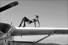 The Plane -  Shooting with Eleonore