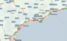 Marbella Location Map