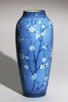 Made by Rookwood Pottery, Cincinnati, Ohio, 1880 - 1960. Decorated by Lorinda Epply, American, 1874 - 1951, active at Rookwood Pottery 1904 ...