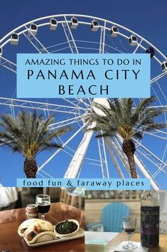 Panama City Beach Florida is such a fun town! You'll find so much to do and incredible places to eat. Panama City Beach Florida, Florida Vacation, Florida Travel, Panama City Panama, Gulf Coast Beaches, Florida Beaches, Shell Island Panama City, Family Vacation Destinations, Dream Vacations