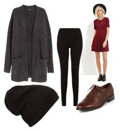 """winter"" by kaygue1 on Polyvore featuring Forever 21 and H&M"