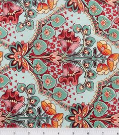 Stonehill Collection Fabric- Floral Medallion Splurge & quilting fabric & kits at Joann.com