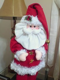 la casa de chichi: Molde Santa Claus Parado Fieltro o Tela Sewing Dolls, Elf On The Shelf, Holiday Decor, Home Decor, Home, Baby Batman, Noel, Decoration Home, Room Decor