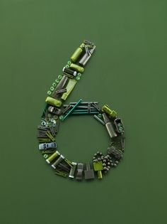 Creative Numbers, Alexander, Crispin, Photography, and Trendland image ideas & inspiration on Designspiration Lettering, Typography Design, Things Organized Neatly, Trends Magazine, Advertising Photography, Letters And Numbers, Shades Of Green, 50 Shades, Still Life