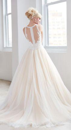 Featured Wedding Dress: Madison James; www.madison-james.com; Wedding dress idea.