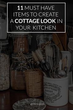 11 things to add to your kitchen for a cottage feel