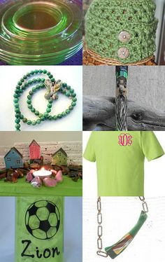 Green with Envy! by Santa Bags on Etsy--Pinned with TreasuryPin.com