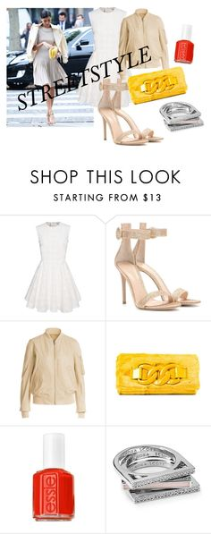 """""""Streetstyle #2"""" by romi-kella on Polyvore featuring Gianvito Rossi, Rick Owens, Oui, Odile!, Essie, Kendra Scott, women's clothing, women, female, woman and misses"""