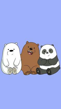 Wallpaper Iphone Wallpaper We Bare Bears Panda Aesthetic Bear Wallpaper, Animal Wallpaper, Disney Wallpaper, Wallpaper Backgrounds, Mobile Wallpaper, Colorful Wallpaper, Wallpaper Cartoon Iphone, Wallpaper Ideas, Phone Backgrounds