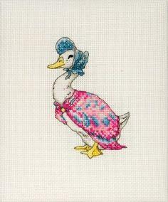 Jemima Puddle-duck (Beatrix Potter) - Cross Stitch Kit