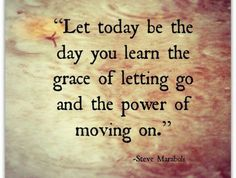 Letting go of attachments is so important for our personal growth, inner peace, strength and resolve...and creates a far greater capacity to love.