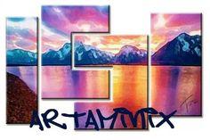 Lake #handmade #art #magic #artist #love #romantic #paint #artaminix