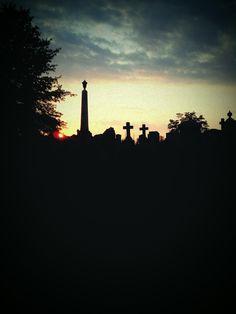 graveyard in Shepherdstown, WV.