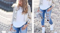 Click image to close this window Outfits Juvenil, Wide Leg Jeans, Bell Bottoms, Summer Outfits, Women Wear, Shorts, Lace, Youtube, Pants