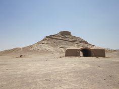 Tower of Silence (Dakhma) for Zoroastrian sky burial.