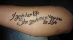 Tattoo I want for my daughter