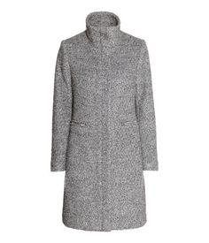 H&M Bouclé coat in a wool blend 399 AED