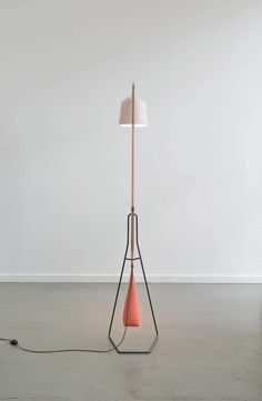 A Floor Lamp by Aust & Amelung   Yellowtrace.