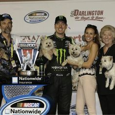 The Kyle Busch Family-Kyle's Mom and Dad