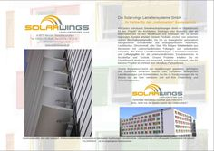 Solarwings stellt sich vor! Solar Shades, Architecture