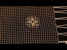 Il filet sardo, uno sguardo sul mio mondo. - YouTube Gold Work, Needle Lace, Embroidery Techniques, Sardinia, Bargello, Diy And Crafts, Weaving, Make It Yourself, Youtube
