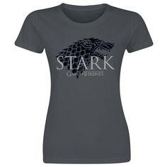 T-Shirt Manches courtes Game Of Thrones »Stark« | Dispo chez EMP | Plus de Manches courtes Merchandising culte sur notre site en ligne ✓ Prix imbattables !