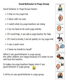 Using Visual Supports in Yoga Groups for Kids & Teens – being inclusive of learning styles - - Pinned by @PediaStaff – Please visit http://ht.ly/63sNt for all (hundreds of) our pediatric therapy pins