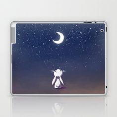 Moon Bunny Laptop & iPad Skin by Freeminds - $25.00