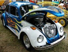 How to get started building a VW Beetle with a beefy engine. My experience and tips to get you going. Vw Cars, Drag Cars, Beetle Bug, Vw Beetles, Hot Rods, Vw Wagon, Custom Classic Cars, Vw Engine, Volkswagen Bus